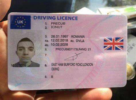 Buy real driver's licence online